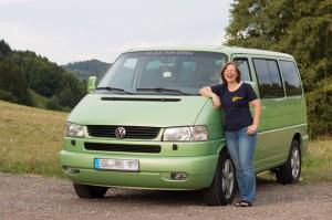 2013-08-06 Mitgliedershooting VW-Bus-Team Baden Petra