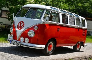 VW Bus Treffen in Kochel am See 2012